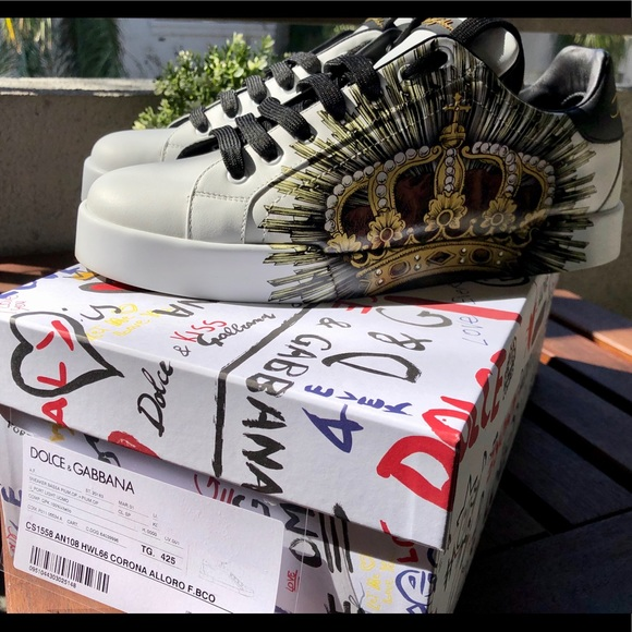 Dolce Gabbana Limited Edition Lowtop